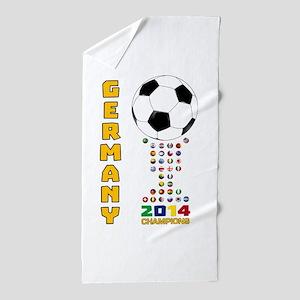 Germany World Champions 2014 Beach Towel