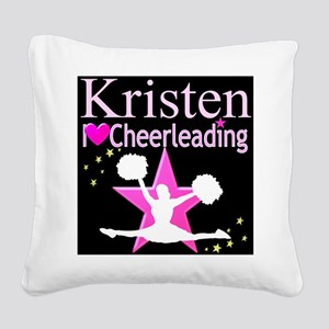 BEST CHEER Square Canvas Pillow