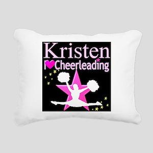 BEST CHEER Rectangular Canvas Pillow