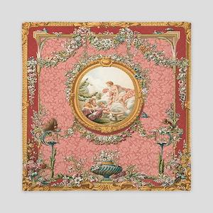 Ancient Victorian Angel design in pastel tones Que
