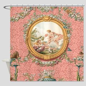 Ancient Victorian Angel design in pastel tones Sho