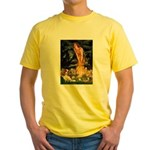 Fairies & Cavalier Yellow T-Shirt