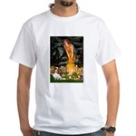Fairies & Cavalier White T-Shirt