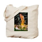 Fairies & Cavalier Tote Bag