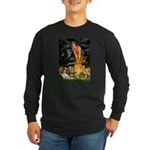 Fairies & Cavalier Long Sleeve Dark T-Shirt