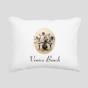 Venice Beach Rectangular Canvas Pillow