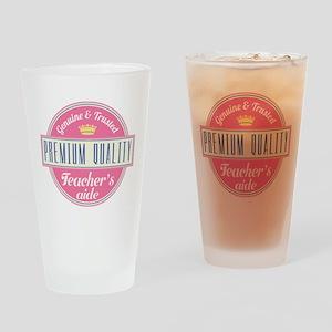 Teacher's Aide Drinking Glass