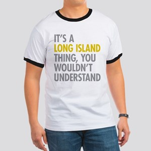Long Island NY Thing Ringer T