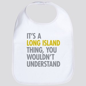 Long Island NY Thing Bib