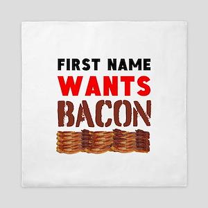 Wants Bacon Queen Duvet