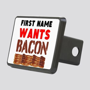 Wants Bacon Hitch Cover