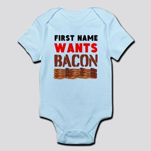Wants Bacon Body Suit