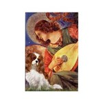 Mandolin Angel & Cavalier Rectangle Magnet (10 pac
