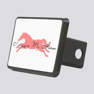 I Love My Horse Hitch Cover