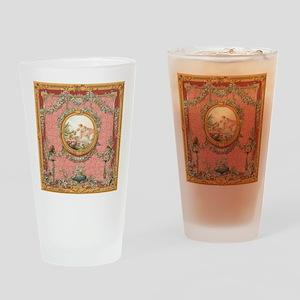 Ancient Victorian design in pastel tones Drinking
