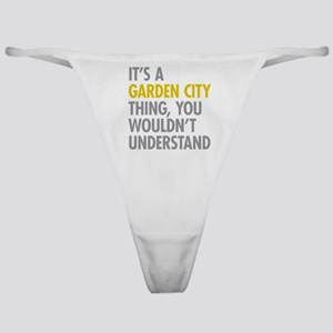 Its A Garden City Thing Classic Thong