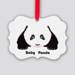 Baby Panda CF Picture Ornament