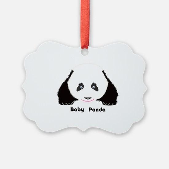 Baby Panda CF Ornament