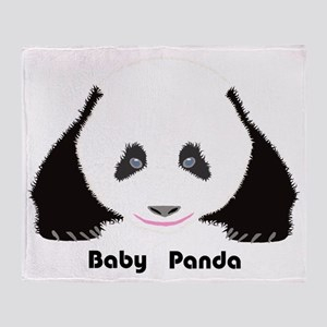 Baby Panda CF Throw Blanket