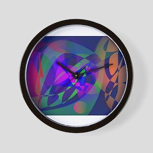 Deep-Sea Fishing Wall Clock