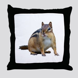 Chipmunk. Throw Pillow