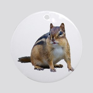 Chipmunk. Round Ornament