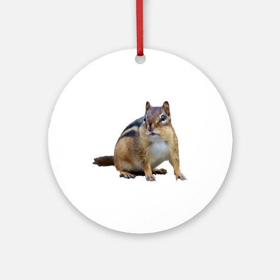 Chipmunk. Round Ornament