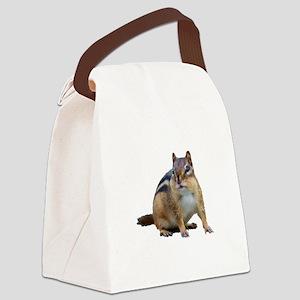 Chipmunk. Canvas Lunch Bag