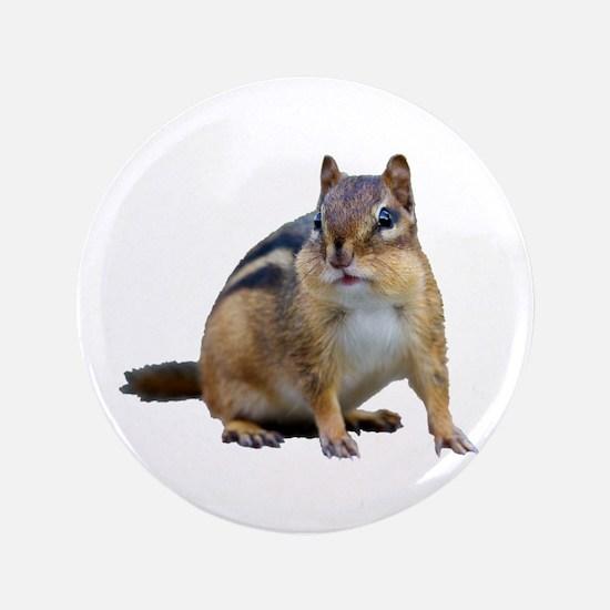 """Chipmunk. 3.5"""" Button"""