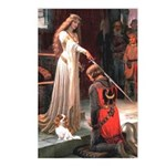 Princess & Cavalier Postcards (Package of 8)