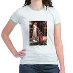 Princess & Cavalier Jr. Ringer T-Shirt