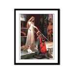 Princess & Cavalier Framed Panel Print