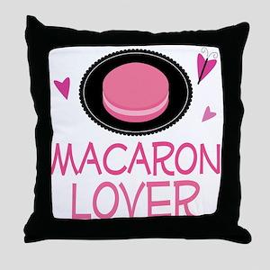 Macaron Lover Throw Pillow