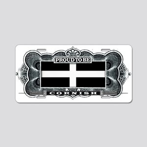 Proud To Be Cornish Aluminum License Plate