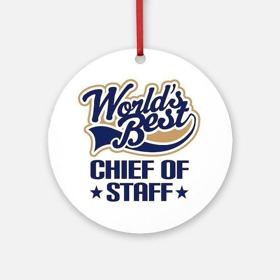 Chief of staff Ornament (Round)
