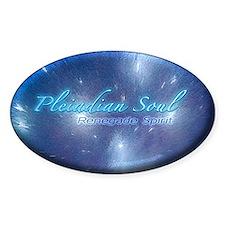 Pleiadian Soul Hyperspace Sticker (oval)
