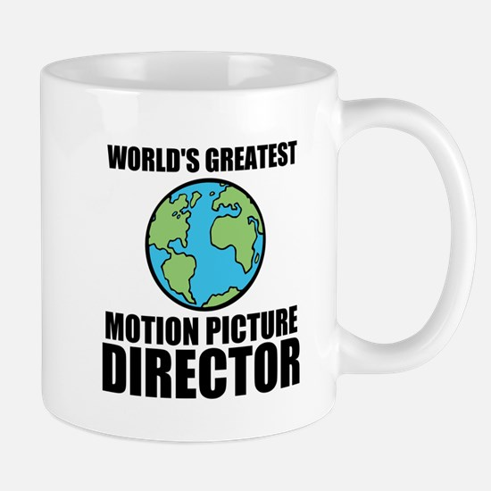 Worlds Greatest Motion Picture Director Mugs