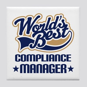 Compliance manager Tile Coaster