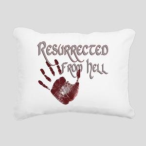 Resurrected from Hell Rectangular Canvas Pillow