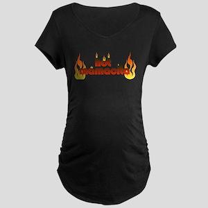 Hot mamacita Maternity Dark T-Shirt