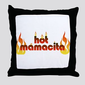 Hot mamacita Throw Pillow