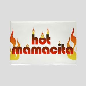 Hot mamacita Rectangle Magnet