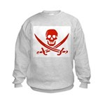 Pirates Red Kids Sweatshirt