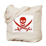 Pirates Red Tote Bag