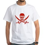 Pirates Red White T-Shirt