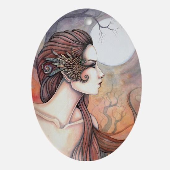 Spirit of Artemis Greek Goddess Fantasy Art Orname