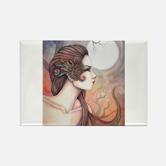 Spirit of Artemis Greek Goddess Fantasy Art Magnet