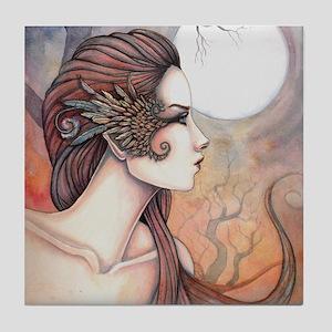 Spirit of Artemis Greek Goddess Fantasy Art Tile C
