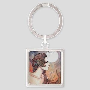 Spirit of Artemis Greek Goddess Fantasy Art Keycha