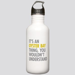 Its An Oyster Bay Thin Stainless Water Bottle 1.0L